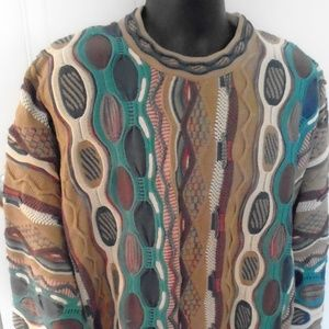Tundra Men's Sweater Canada Large Coogi Style